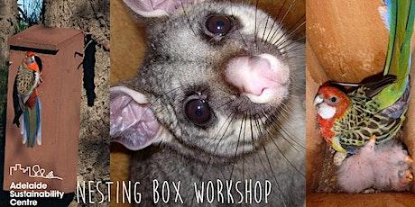 Native wildlife nesting box workshop tickets