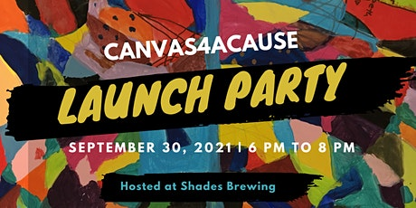 Canvas4aCause Launch Party tickets