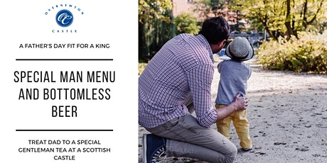 FATHERS DAY HIGH TEA  AT A SCOTTISH CASTLE tickets