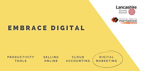 Social Media for Businesses | Embrace Digital (Lancashire) tickets