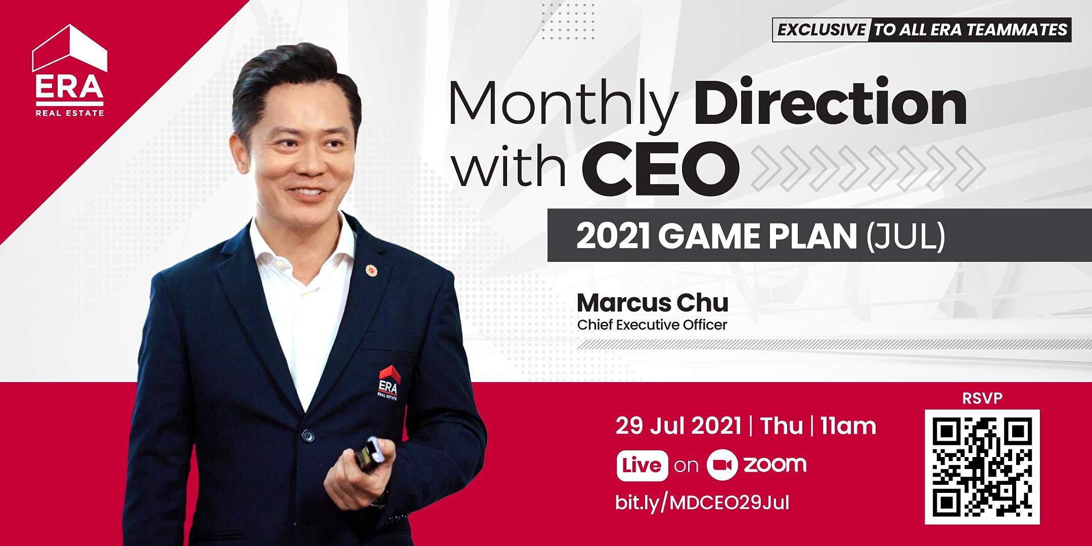 Monthly Direction with CEO Marcus Chu