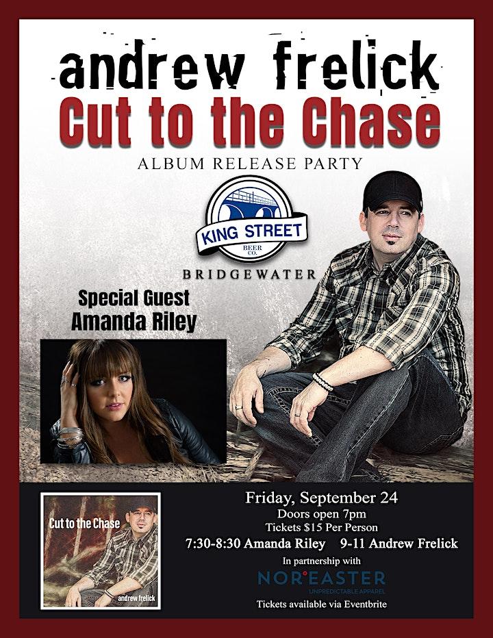 Andrew Frelick  w/special guest Amanda Riley - Album Release image