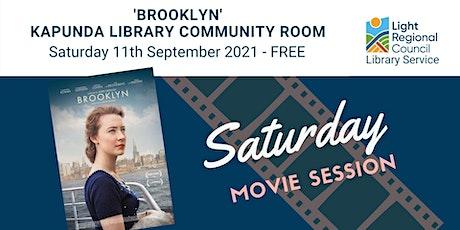 'Brooklyn' Saturday Movie Session @ Kapunda Library tickets