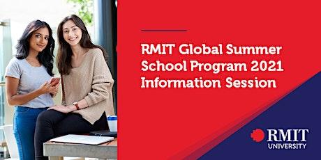 Information Session - RMIT Global Summer School Program 2021 tickets