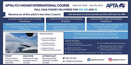 Fly Higher International Information Sessions tickets