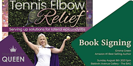Tennis Elbow Relief book signing with the Tennis Elbow Queen tickets