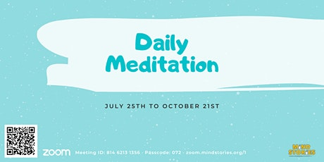 Daily Live Guided Meditation by Theravada Buddhist Monk tickets