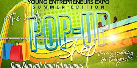 YOUNG ENTREPRENEURS POP UP SHOP tickets