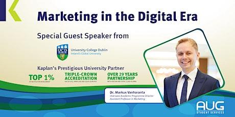 Marketing in the Digital Era tickets