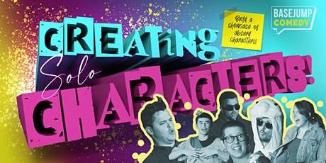 Basejump Comedy | Creating Solo Characters! tickets