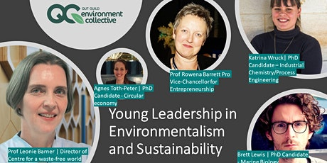 Young Leadership in Environmentalism and Sustainability Q&A tickets
