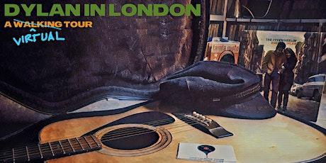 Bob Dylan in 1960s London tickets