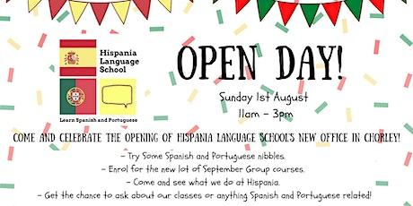 Hispania Language School Open Day tickets
