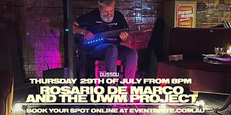 Rosario De Marco & The Uwm Project-  Live Music +  Dining Experience tickets