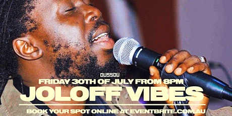 Joloff Vibes -  Live Music +  Dining Experience tickets
