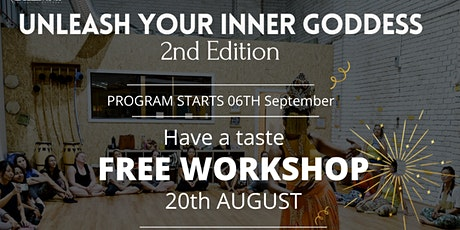 Unleash your inner Goddess - 2nd edition workshop tickets