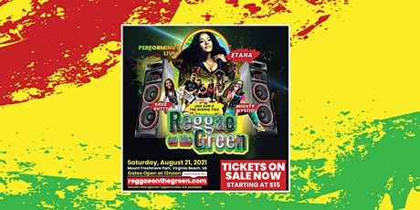 Reggae on the Green Festival tickets