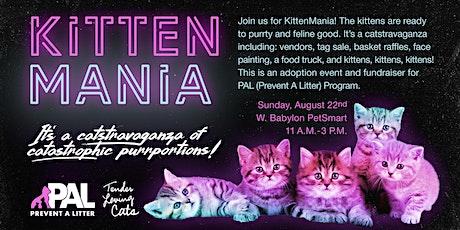 KittenMania 2021: Adoption Event & Fundraiser tickets