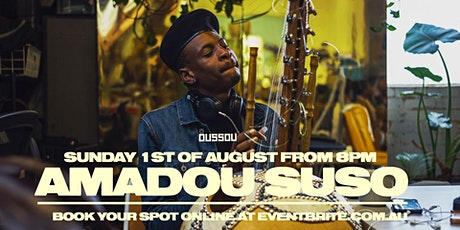 Amadou Suso - Dining Experience / Live Music tickets
