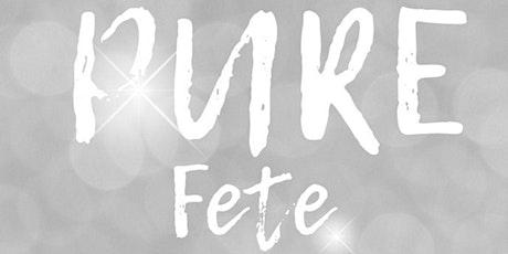 PURE - Wear White Fete tickets