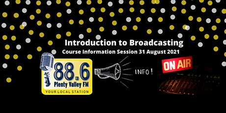 Intro to Radio Broadcasting Course tickets