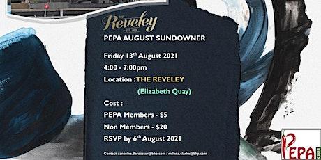 PEPA August Sundowner - Reveley tickets