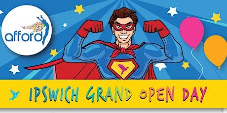 Afford Ipswich Open Day tickets