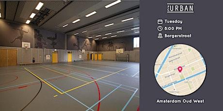 FC Urban Futsal Match AMS Di 3 Aug Borgerstraat tickets