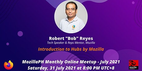 MozillaPH Monthly Online Meetup (JUL 2021) tickets