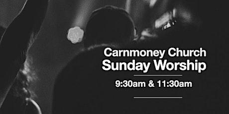 CARNMONEY   11:30am Service  08/08/21 tickets
