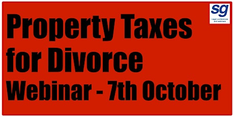 Property Taxes for Family Lawyers tickets