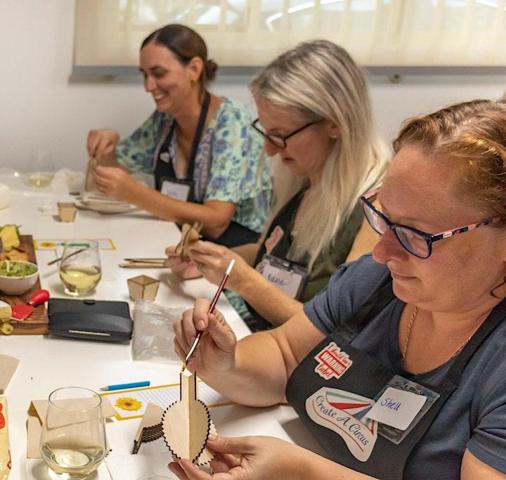 Coffee and Create  workshop.  Create A Cactus 3D Art Workshop image