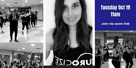 EUROCIZE with Tina Beginner, low intensity dance fitness session tickets