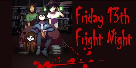 Anime Arvo Presents : Friday the 13th Fright Night! - Adult Event tickets