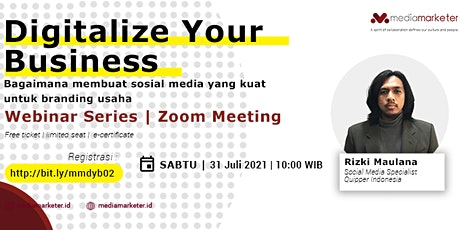 Digitalize Your Business - Sosial Media Branding tickets
