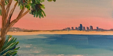 Paint and Sip Surfers Paradise 50% off tickets