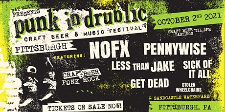 Punk in Drublic Pittsburgh tickets