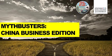 Mythbusters: China business edition tickets