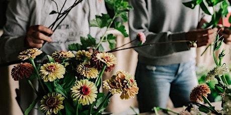 Farm Fresh Summer Bouquet Workshop tickets