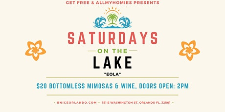 Saturdays On The Lake: $20 Unlimited Mimosas Day Party tickets