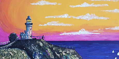 Social Strokes™ Painting Class - Bryon Bay Lighthouse tickets
