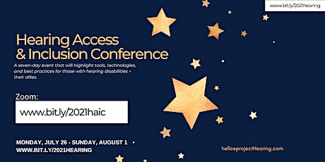 Second Annual Hearing Access & Inclusion Conference entradas