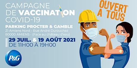 Centre de vaccination mobile COVID-19 chez P&G billets