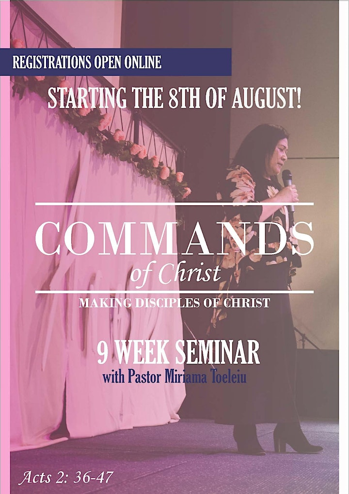 Commands of Christ image