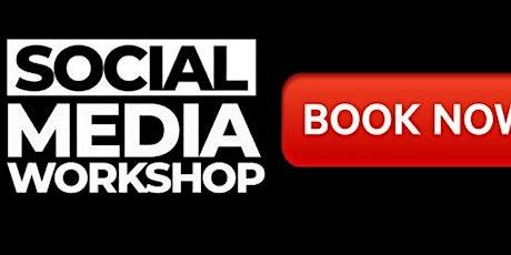 Social Media Training for Business: Facebook, LinkedIn & Instagram tickets