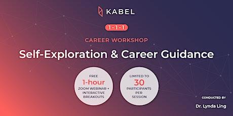 Self-Exploration & Career Guidance | 1-1-1 Career Workshops tickets