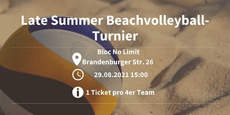 Late Summer Beachvolleyball-Turnier Leipzig Tickets