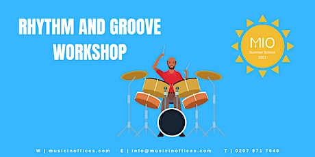 Rhythm and Groove Workshop with JT tickets