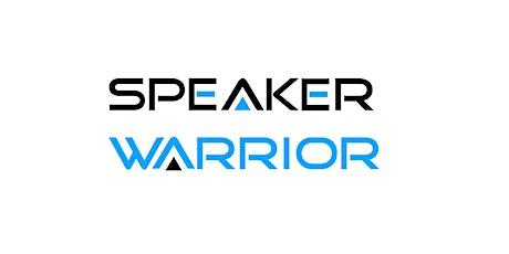 Speaker Warrior  Online  Meeting by Johan Speaking Academy (August 2021) tickets