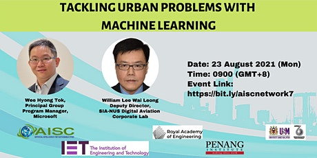 Tackling urban problems with machine learning tickets